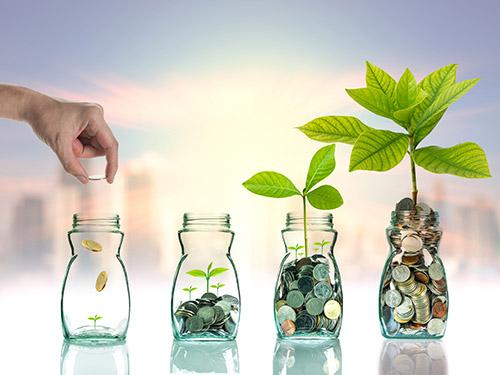 Investieren und Geld vermehren