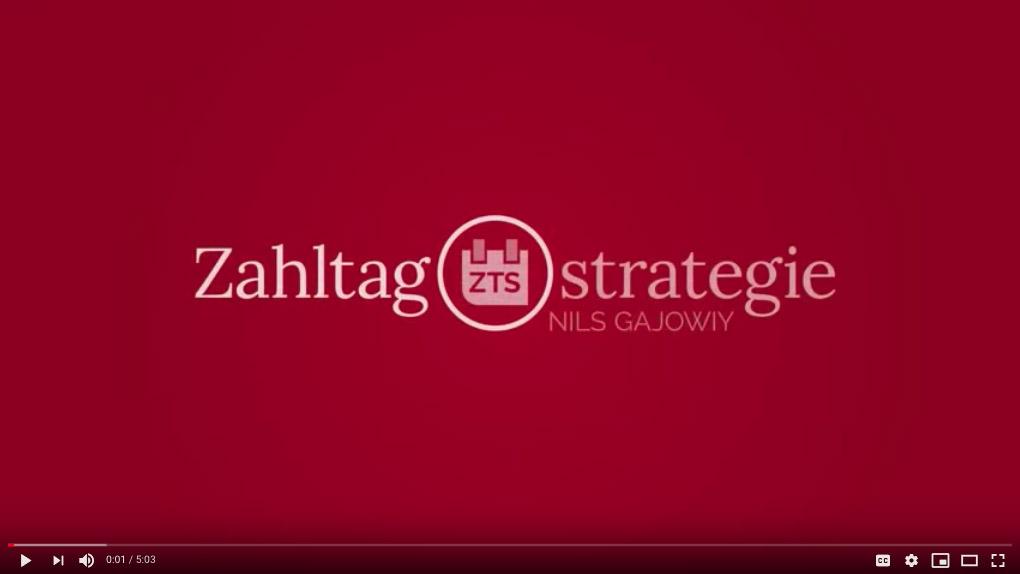 Zahltagstrategie Nils Gajowiy